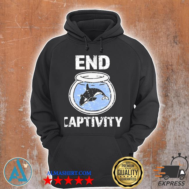 End captivity free the orca whales apparel new s Unisex Hoodie