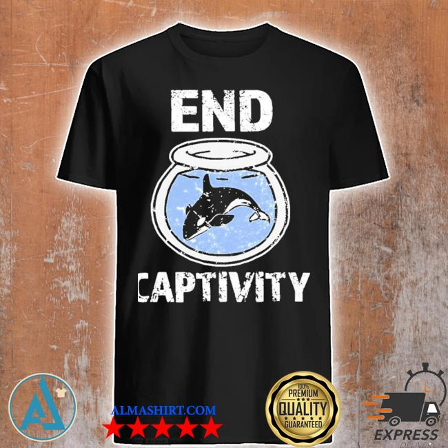 End captivity free the orca whales apparel new shirt