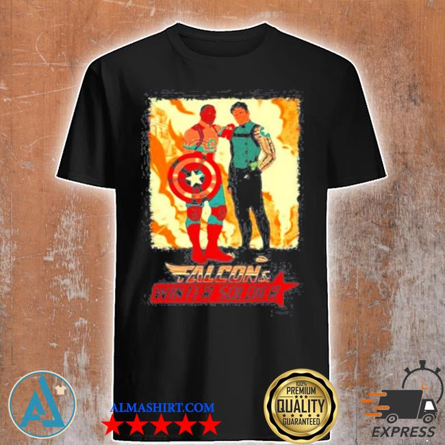 Falcon winter soldier captain America shirt
