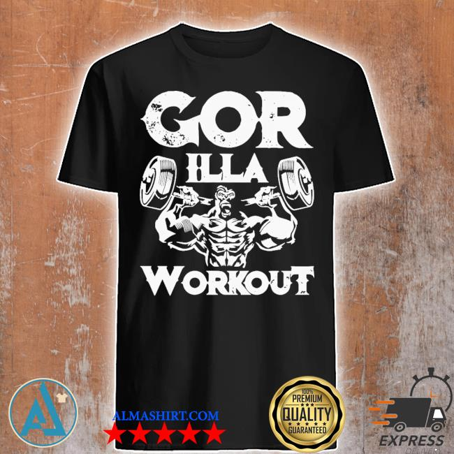 Gorilla workout gym shirt