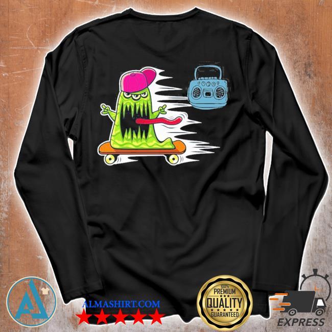 GraffitI monster skateboarding monster radio jamming new 2021 s Unisex longsleeve