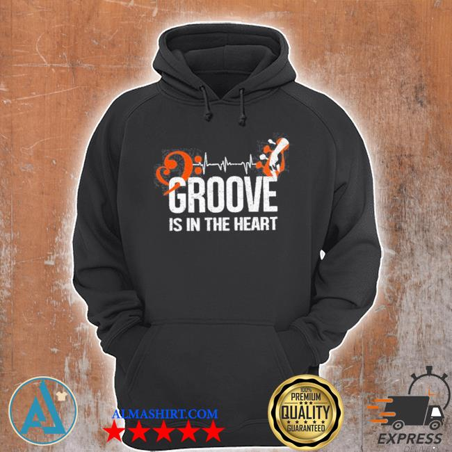 Groove is in the heart s Unisex Hoodie