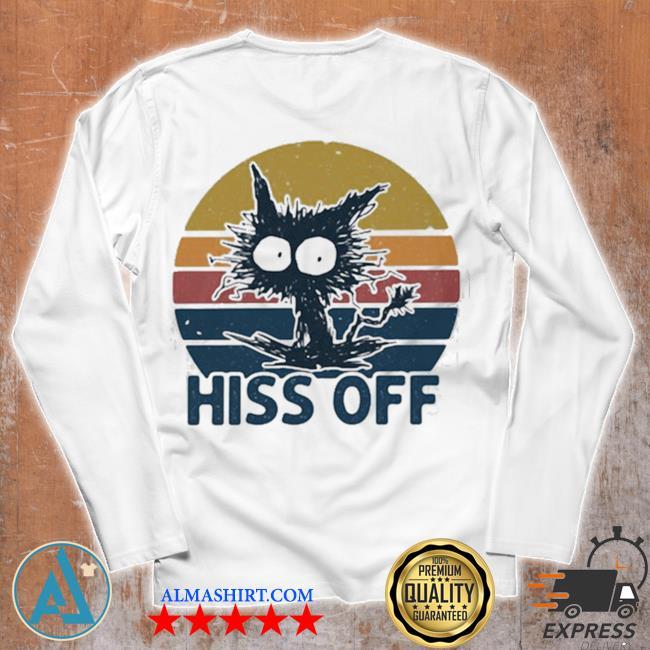 Hiss off cat vintage new 2021 s Unisex longsleeve