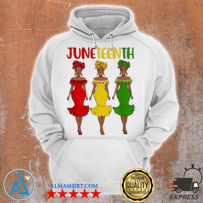 Juneteenth melanin black women s Unisex Hoodie