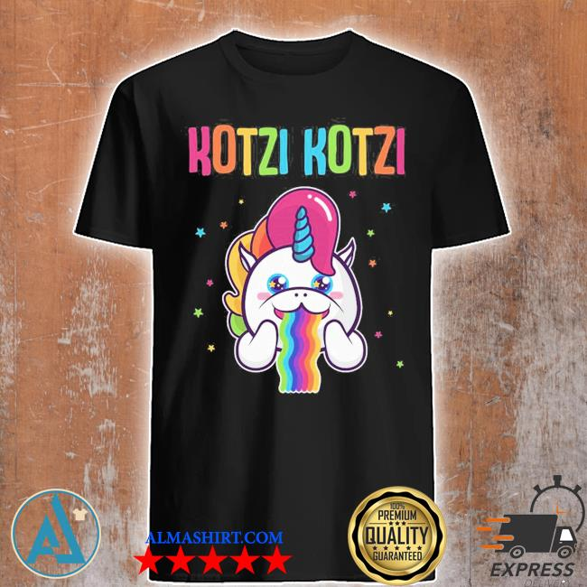 KotzI wein bier sekt mottoparty schnaps einhorn partnerlook shirt