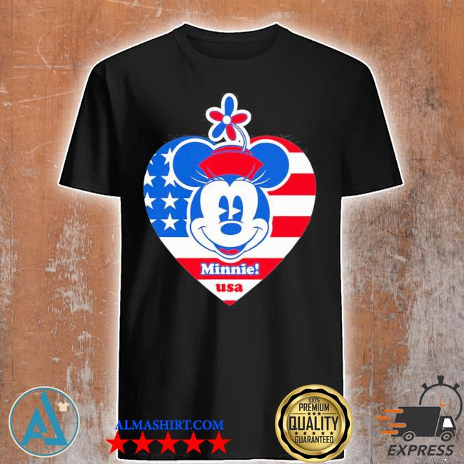 Minnie mouse americana usa shirt