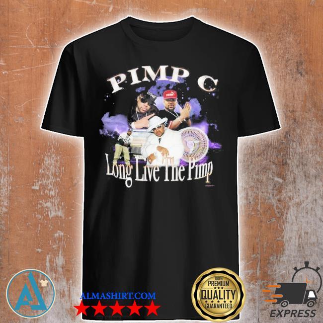 Pimp c long live the pimp vintage look shirt