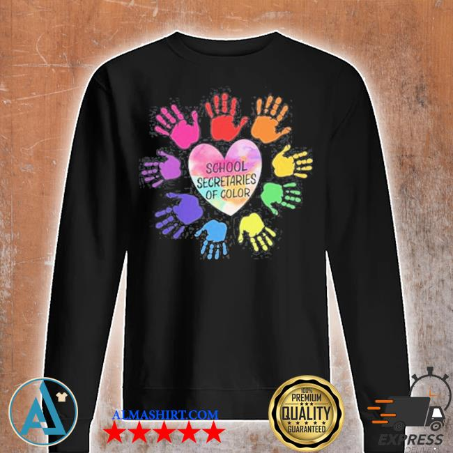 School secretaries of color s Unisex sweatshirt