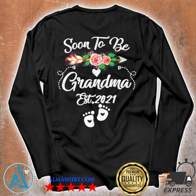 Soon to be grandma 2021 mother's day for grandma pregnancy s Unisex longsleeve