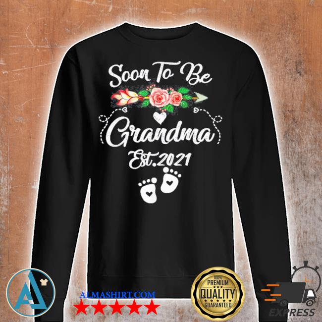 Soon to be grandma 2021 mother's day for grandma pregnancy s Unisex sweatshirt