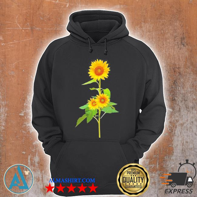 Sunflower flower garden yellow girasol flor new 2021 s Unisex Hoodie