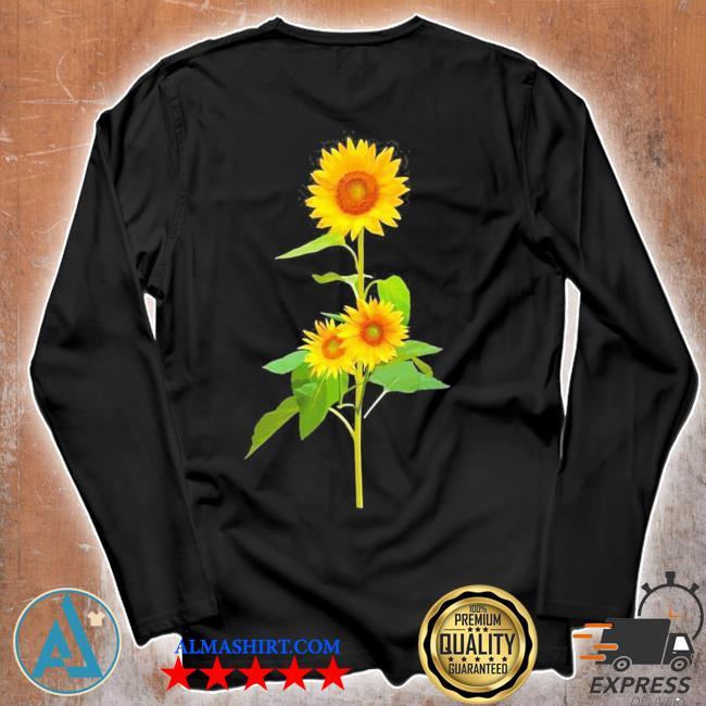 Sunflower flower garden yellow girasol flor new 2021 s Unisex longsleeve