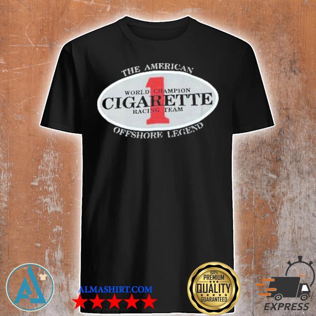 Vintage cigarette racing team shirt