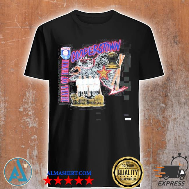 Vintage cooperstown hall of fame shirt