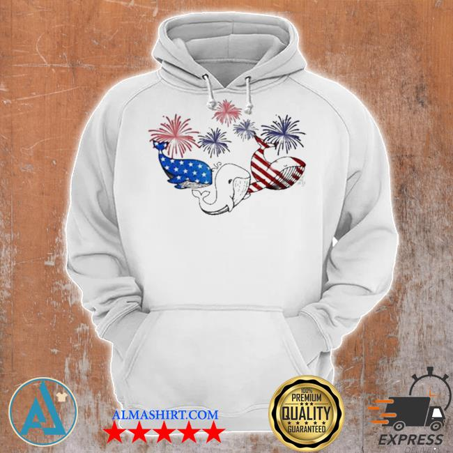 Whale flag colors whale lovers s Unisex Hoodie