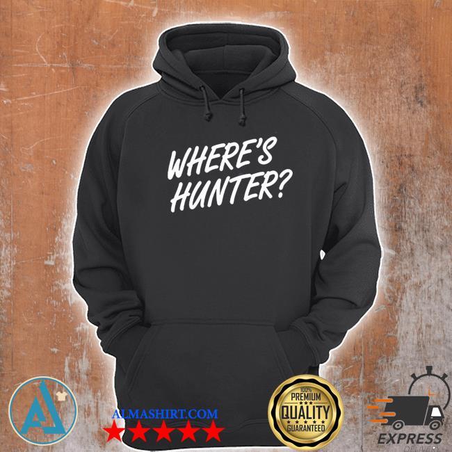 wheres hunter s Unisex Hoodie