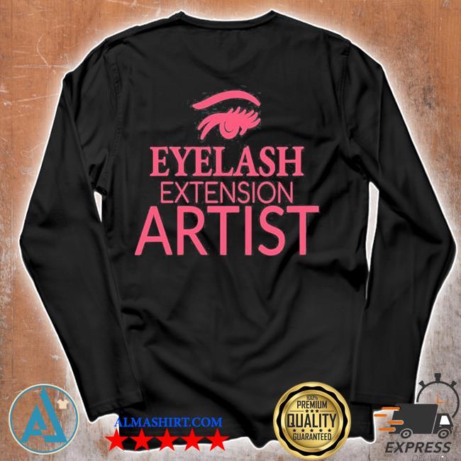 Womens eyelash extension artist s Unisex longsleeve