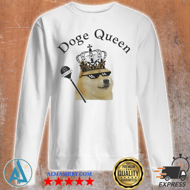 Doge Queen Crypto Shirt Unisex sweatshirt
