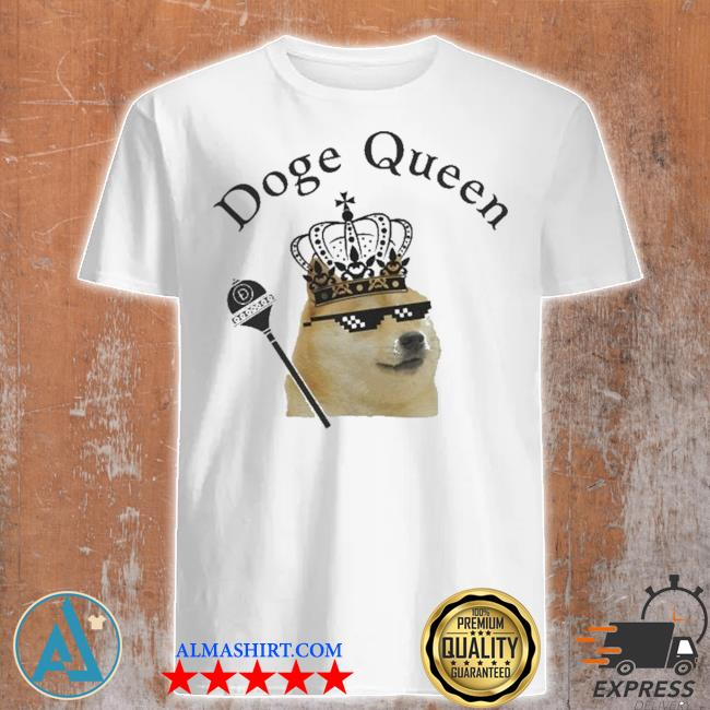 Doge Queen Crypto Shirt