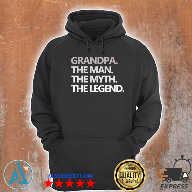 Grandpa the man the myth the legend father's day us 2021 s Unisex Hoodie