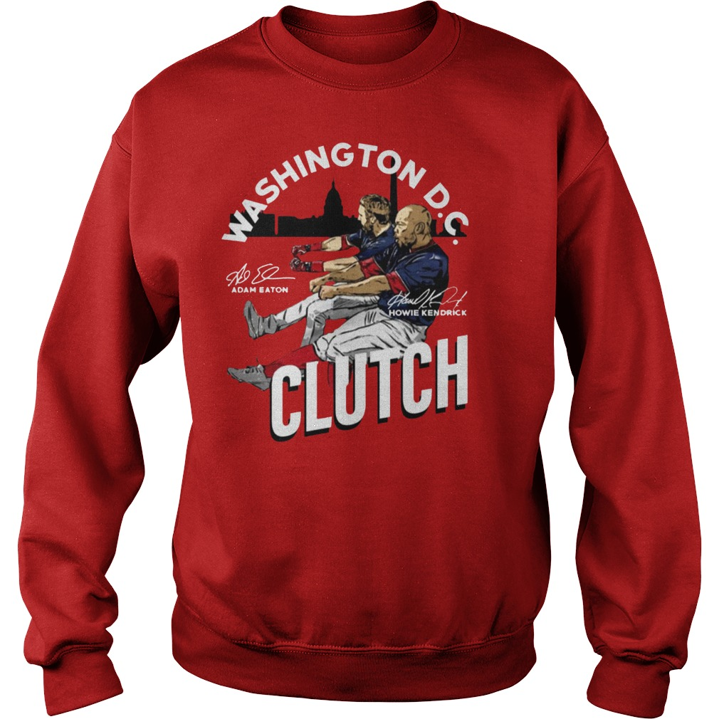 Adam Eaton Howie Kendrick Clutch Offcial Sweater