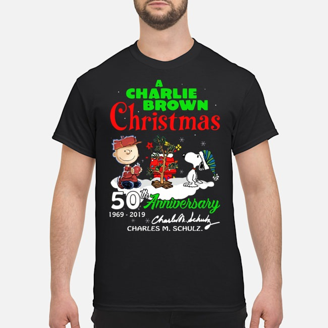 A Charlie Brown Christmas 50th Anniversary 1969 2019 Tank Top