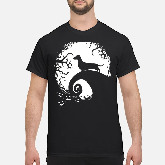 Dachshund nightmare before Christmas shirt