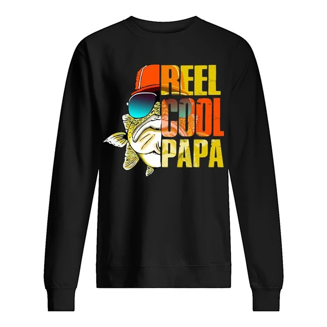 Fishing Reel cool Papa Sweater