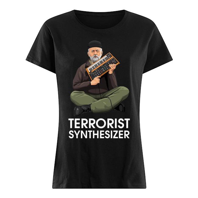 Jeremy Corbyn Terrorist Synthesizer Ladies shirt