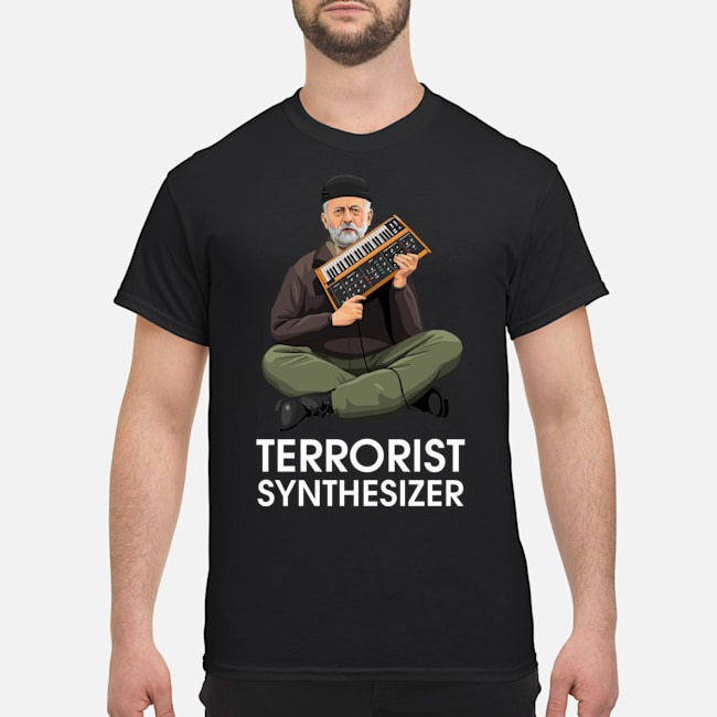 Jeremy Corbyn Terrorist Synthesizer shirt