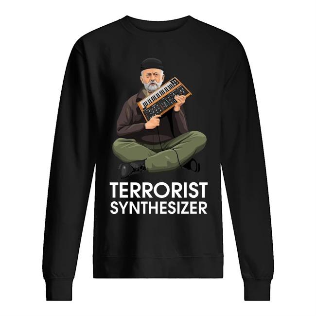 Jeremy Corbyn Terrorist Synthesizer Sweater