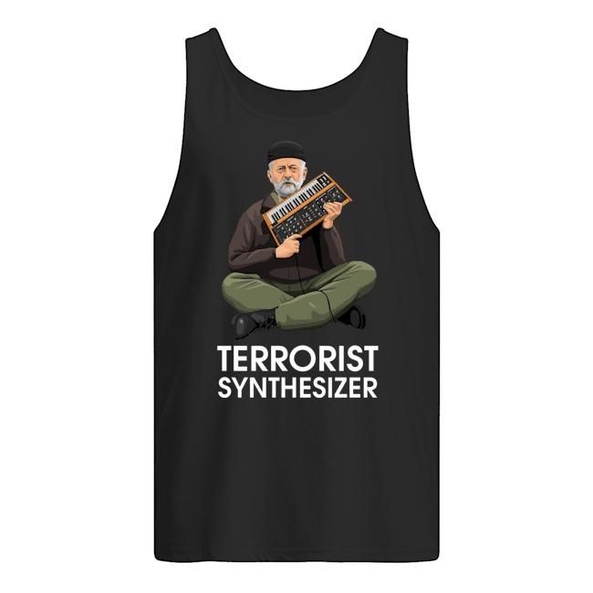 Jeremy Corbyn Terrorist Synthesizer Tank Top