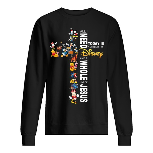 All I need today is a little bit of Disney and a whole lot of Jesus Sweater