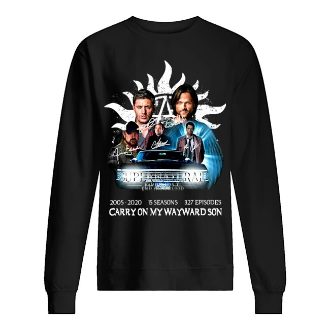 Supernatural family don't end with blood carry on my wayward son Sweater