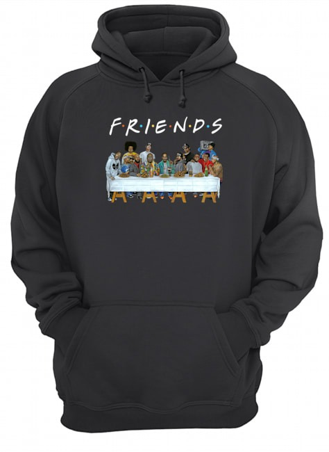 Us rappers the last supper friends Hoodie