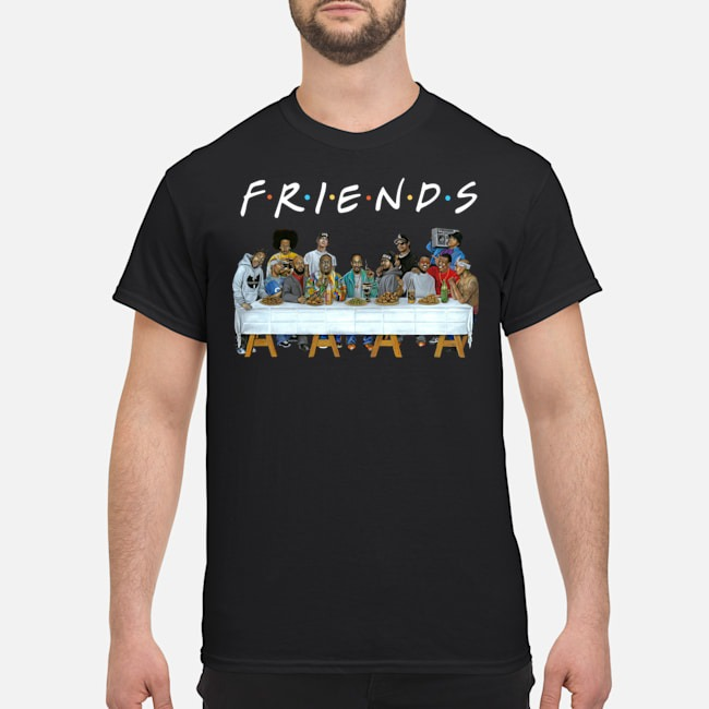 Us rappers the last supper friends shirt