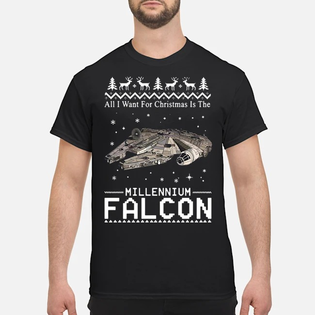 All I want for Christmas is the Millennium Falcon shirt