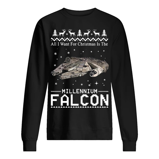 All I want for Christmas is the Millennium Falcon Sweater
