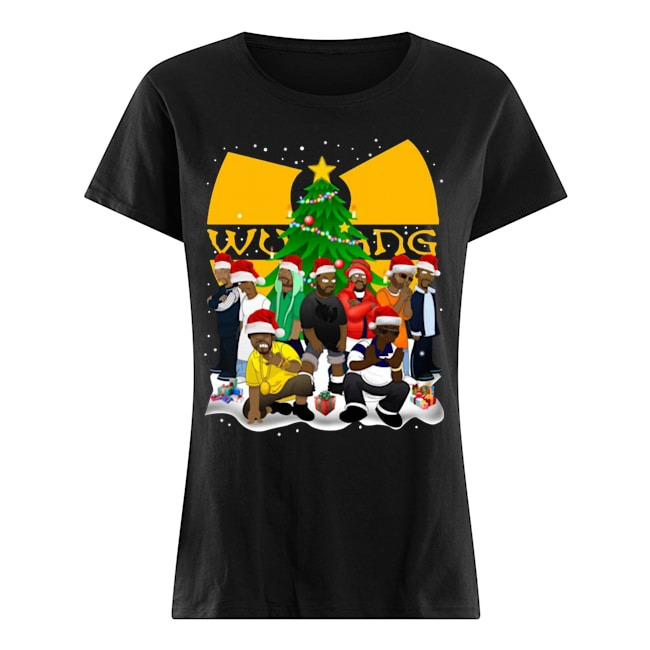 Wu Tang Clan Simpson Merry Christmas Ladies shirt