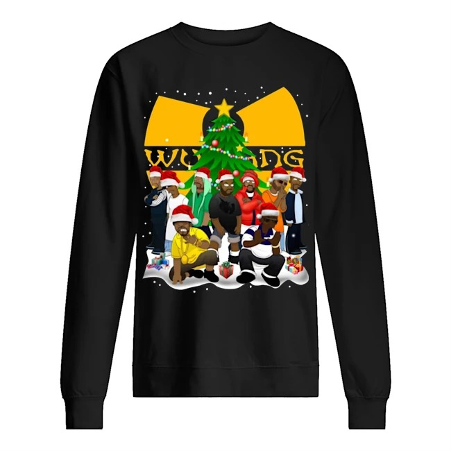 Wu Tang Clan Simpson Merry Christmas Sweater
