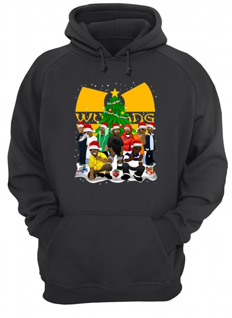 Wu Tang Clan Simpson Merry Christmas Hoodie