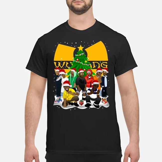 Wu Tang Clan Simpson Merry Christmas shirt