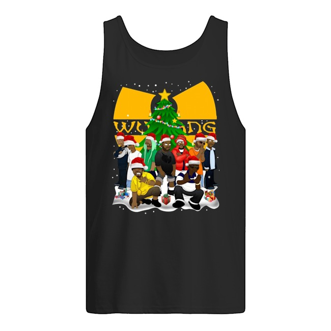 Wu Tang Clan Simpson Merry Christmas Tank Top