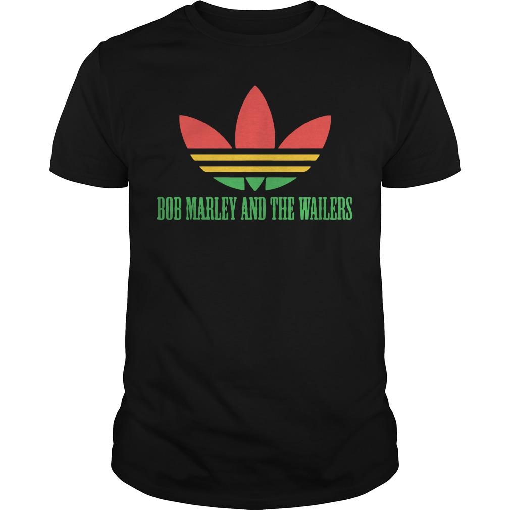 Adidas Bob marley and the wallers shirt