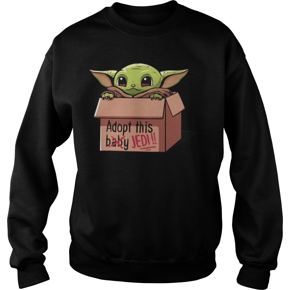 Baby Yoda The Mandalorian Adopt This Jedi Sweater