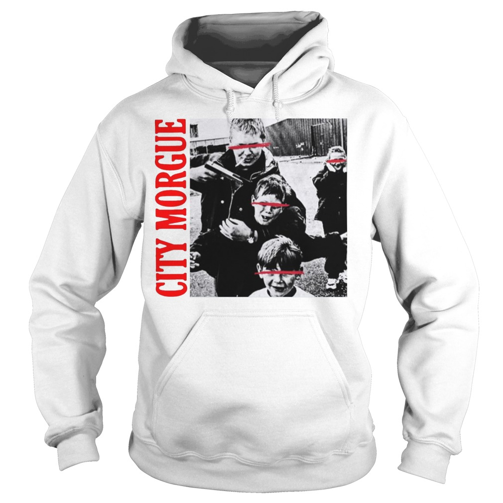 City Morgue Merch Kill Kids Hng Kids Hoodie