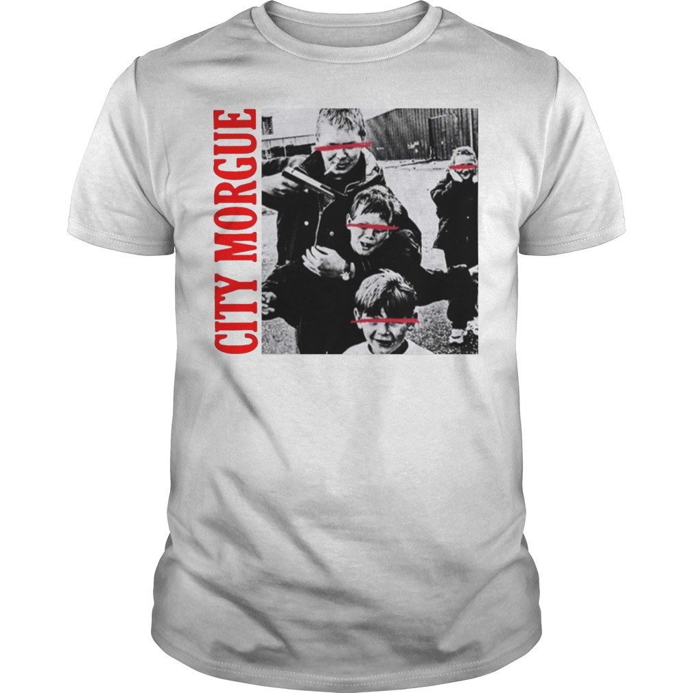 City Morgue Merch Kill Kids Hng Kids Shirt