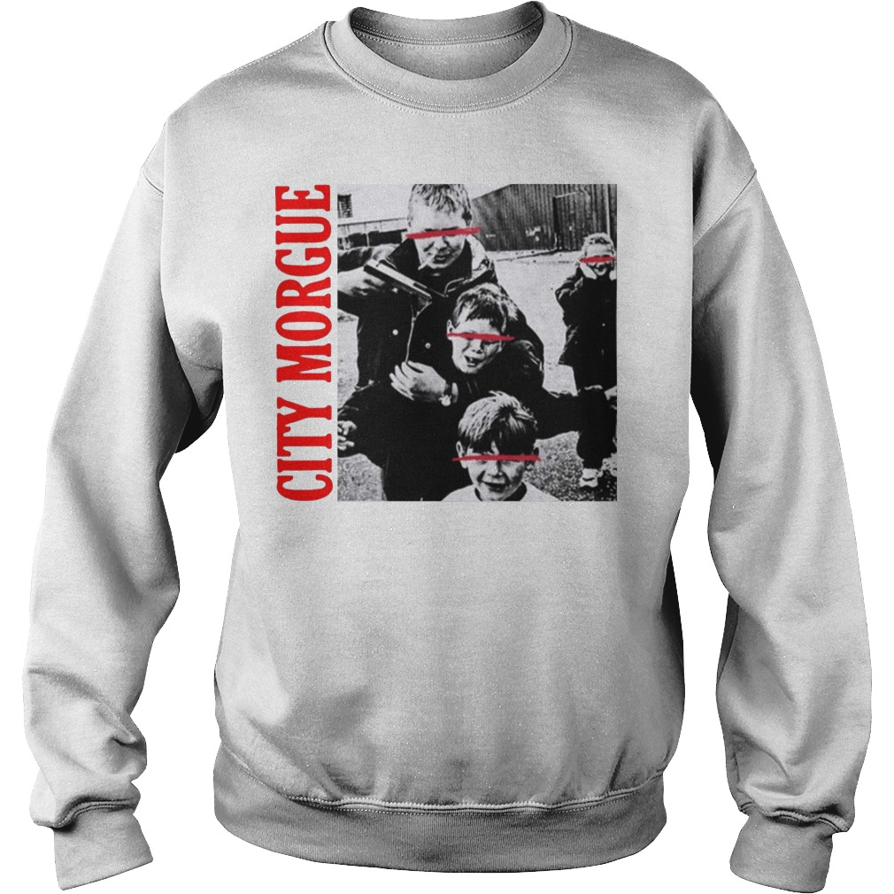 City Morgue Merch Kill Kids Hng Kids Sweater