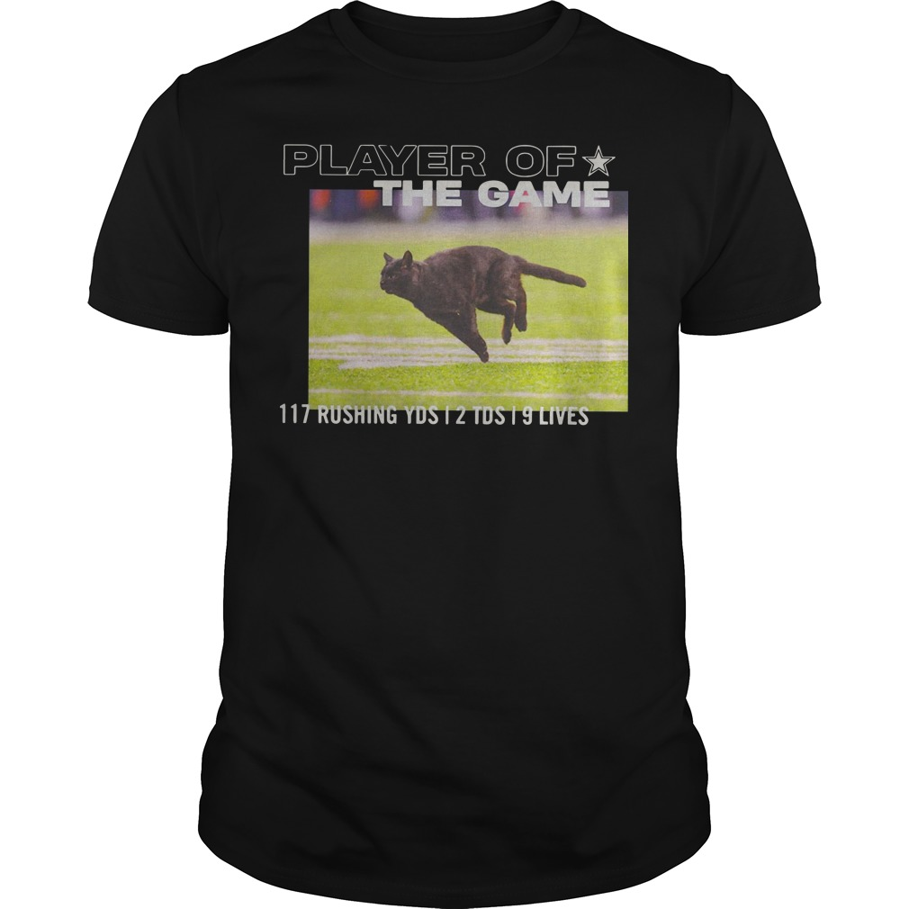 Dallas Cowboys Player Of The Game 117 Rushing YSD 2 TDS 9 Lives Shirt