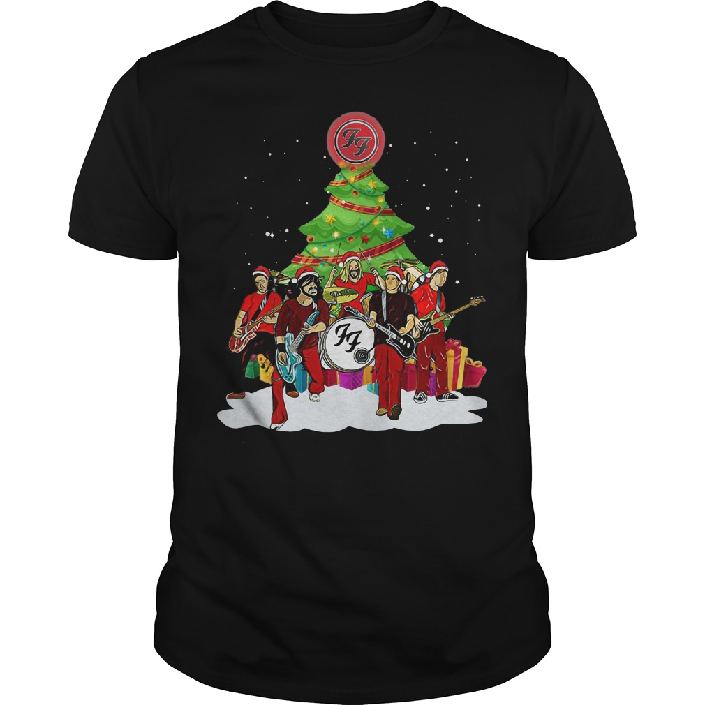 Foo Fighters Christmas tree shirt